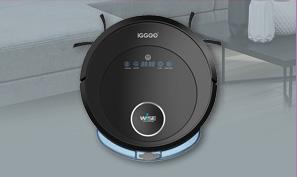 iGGOO WISEหุ่นยนต์ดูดฝุ่นอัตโนมัติ