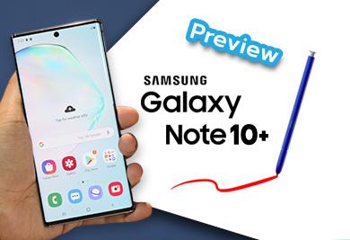 พรีวิว Samsung Galaxy Note10+