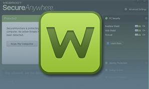 Webroot (Cloud-based AntiVirus Solution) รองรับ windowXP ขึ้นไป