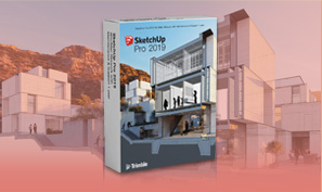 Trimble SketchUp Pro 2019 Classic (Perpetual License) โปรแกรมออกแบบงาน 3 มิติ