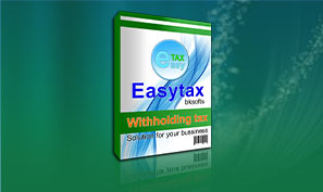 Easy Tax System โปรแกรม หักภาษี ณ ที่จ่าย